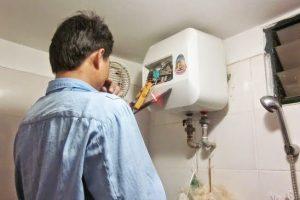 sửa bình nóng lạnh tại nhà không nóng